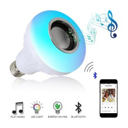 Ampoule Musicale Bluetooth a LED multicouleur
