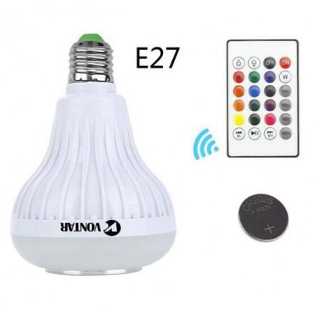 Ampoule Musicale Bluetooth a LED multicouleur