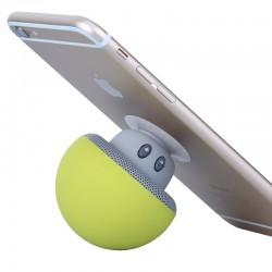 Enceinte champignon porte téléphone bluetooh