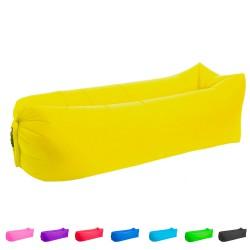Matelas plage gonflable 3 sec 8 couleurs