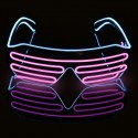 Lunette a LED fashion 4 couleurs dispo