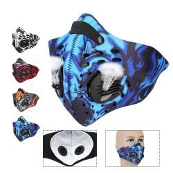 Masque avec filtre charbon actif anti-poussière