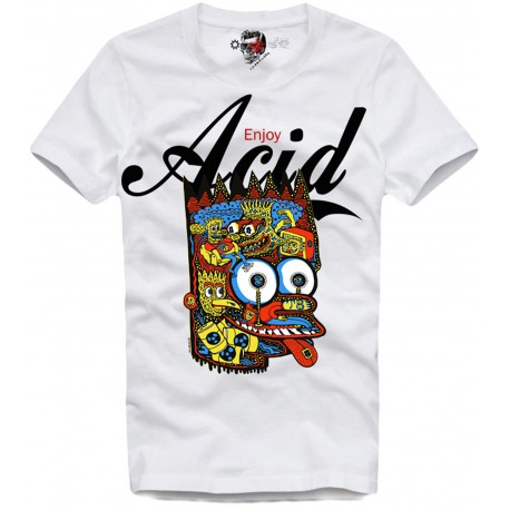 Tee shirt bart simpson Acide