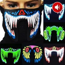 Masque LED Musique DJ