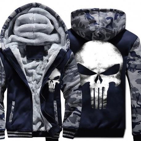 Veste Punisher Militaire 3 couleurs dispo