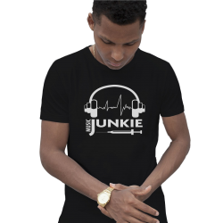 Tee shirt MUSIC JUNKIE